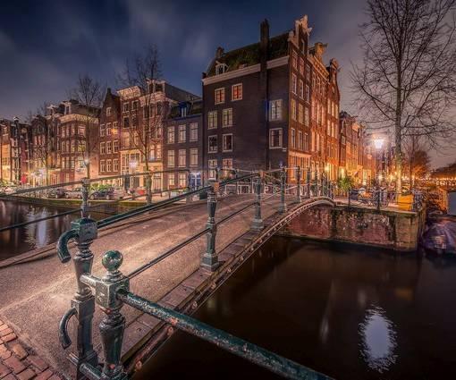Фотообои Амстердам (ID 1095)