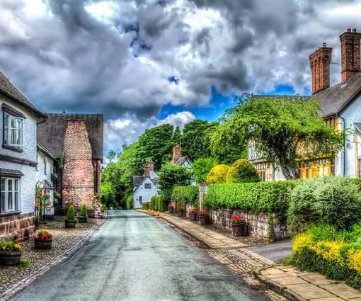 Фотообои Деревня (ID 1100)