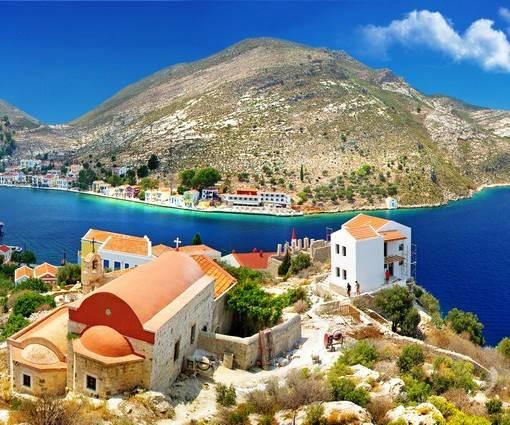 Фотообои Греция (ID 1113)