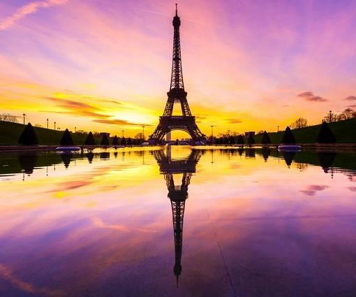 Фотообои Эйфелева башня (ID 1115)
