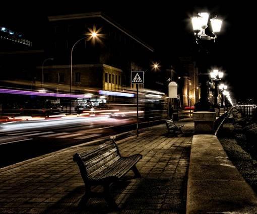 Фотообои Ночной город (ID 1125)
