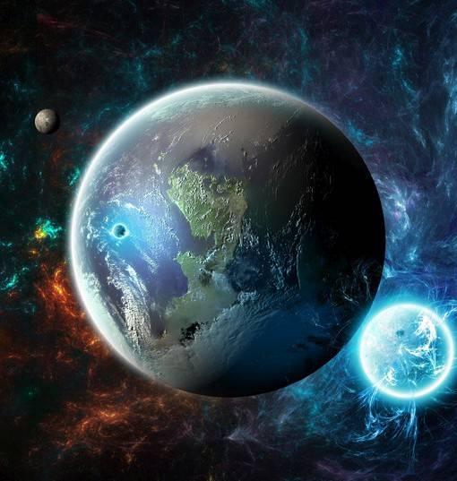 Фотообои Планеты (ID 1598)