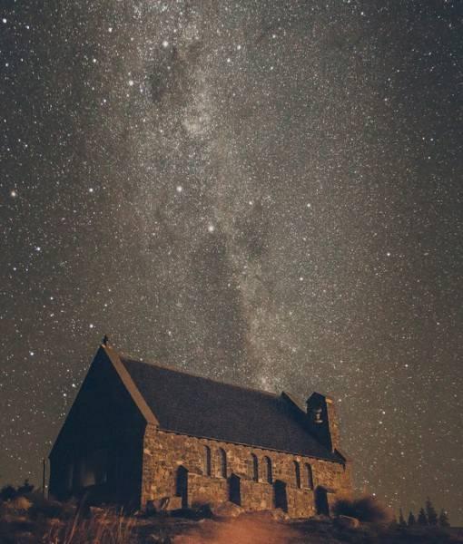 Фотообои Звездное небо (ID 1605)