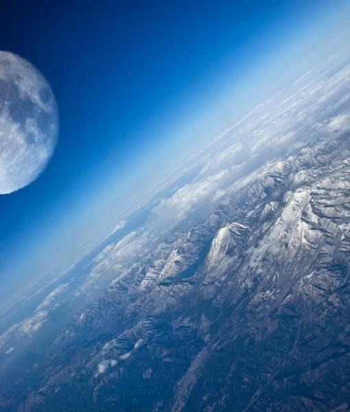 Фотообои Луна (ID 1612)
