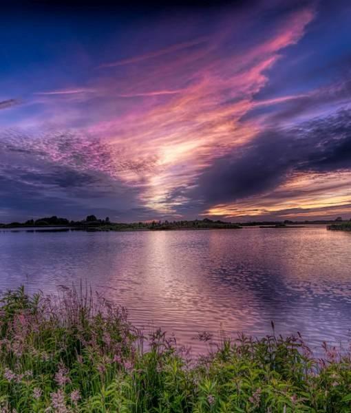 Фотообои Закат солнца (ID 1617)