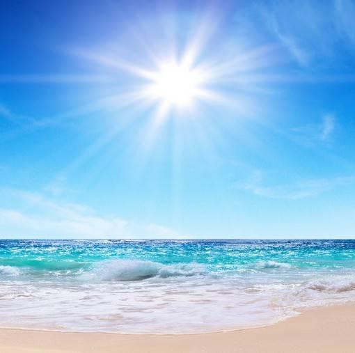Фотообои Море и солнце (ID 1618)