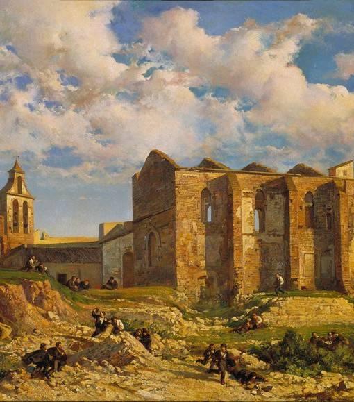 Фотообои Parròquia de Santa Anna (ID 1625)
