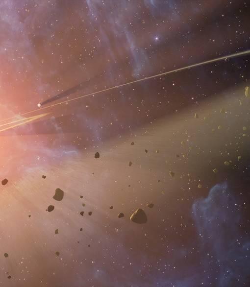 Фотообои Космическая пыль (ID 1716)