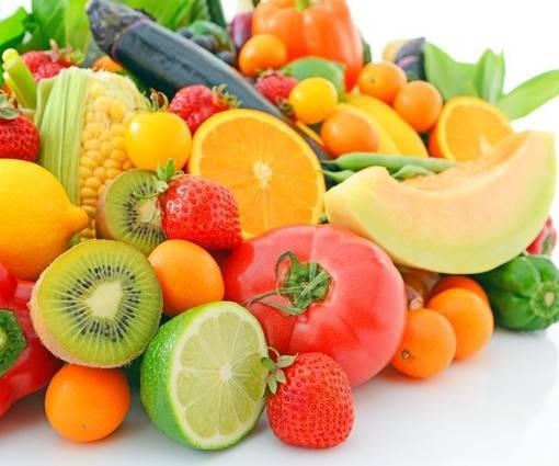 Фотообои Овощи и фрукты (ID 985)