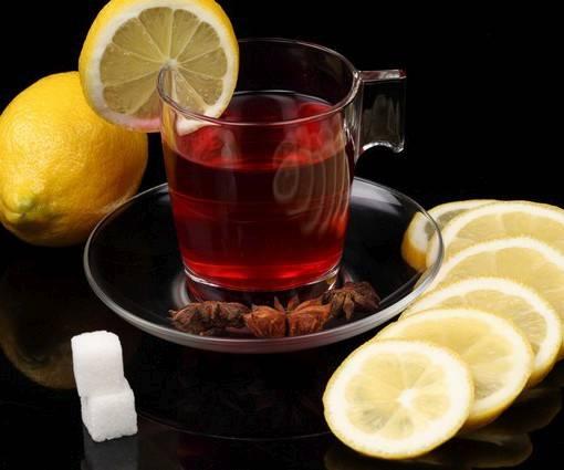 Фотообои Чай с лимоном (ID 997)