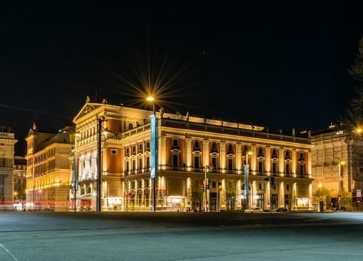 Фотообои Австрия. Ночной город (ID 1964)