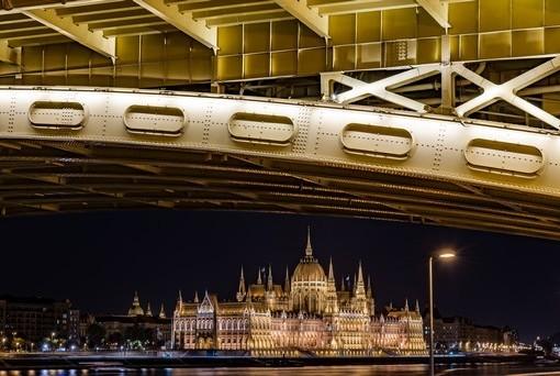 Фотообои Панорама Будапешта (ID 2024)