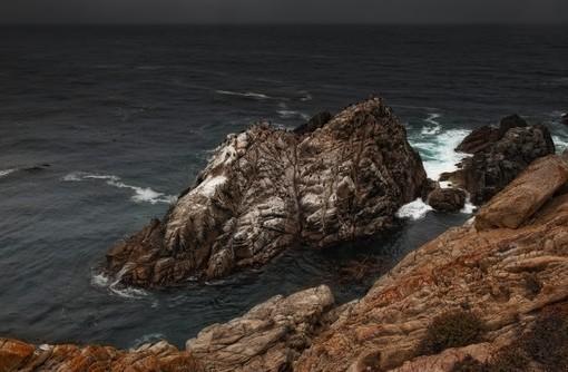 Фотообои Волны. Скалы (ID 2882)