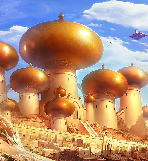 Фотообои Сказочный мир (ID 5313)
