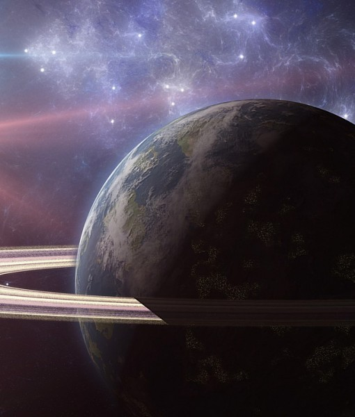 Фотообои Кольца Сатурна (ID 6207)
