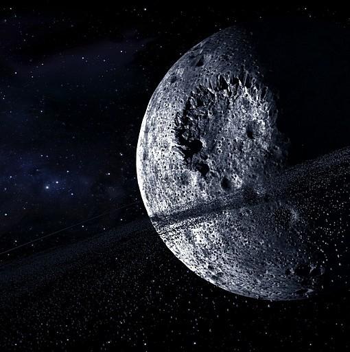 Фотообои Пояс астероидов (ID 6210)
