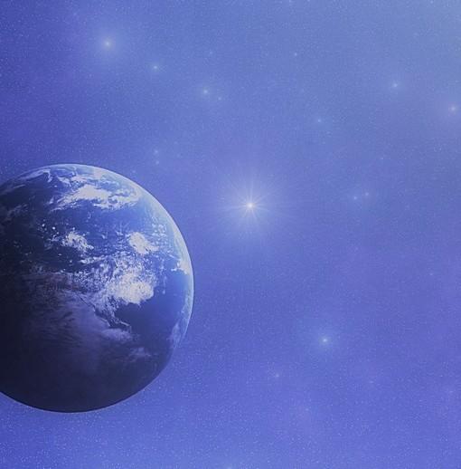 Фотообои Вид на Землю из космоса (ID 6220)