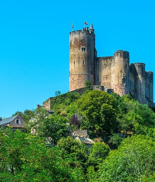 Фотообои Старинный замок на горе (ID 7220)