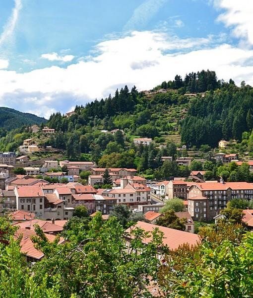 Фотообои Город в горах (ID 7222)