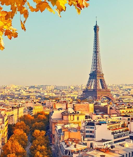 Фотообои Осень в Париже (ID 7223)