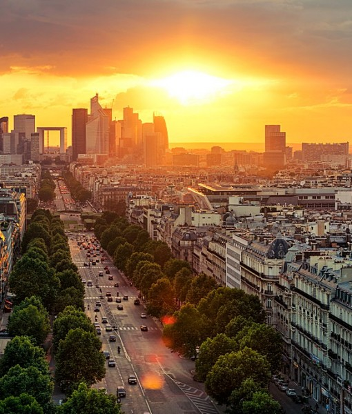 Фотообои Франция. Рассвет (ID 7226)