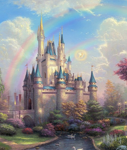Фотообои Сказочный замок (ID 8088)