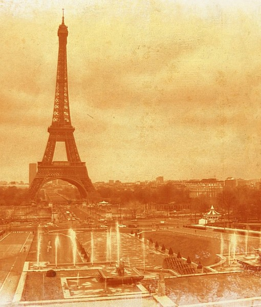 Фотообои Панорама Парижа (ID 8207)