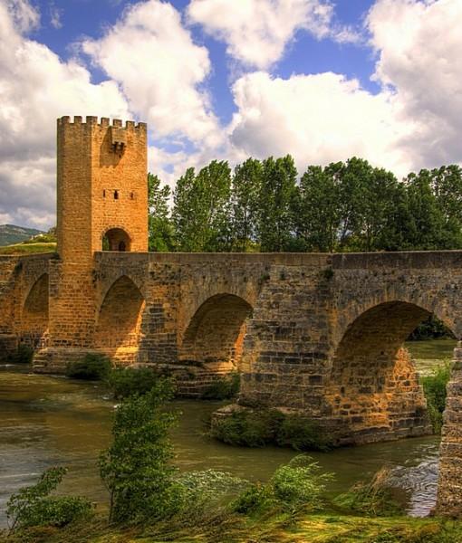 Фотообои Старинный каменный мост (ID 8217)