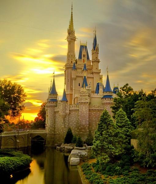 Фотообои Волшебный замок (ID 8224)