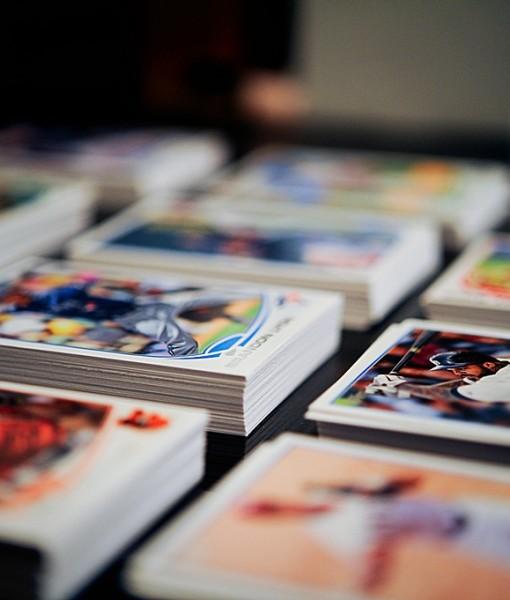 Фотообои Спортивные карточки (ID 13209)