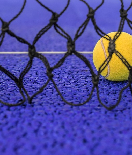 Фотообои Мячик в сетке (ID 13217)