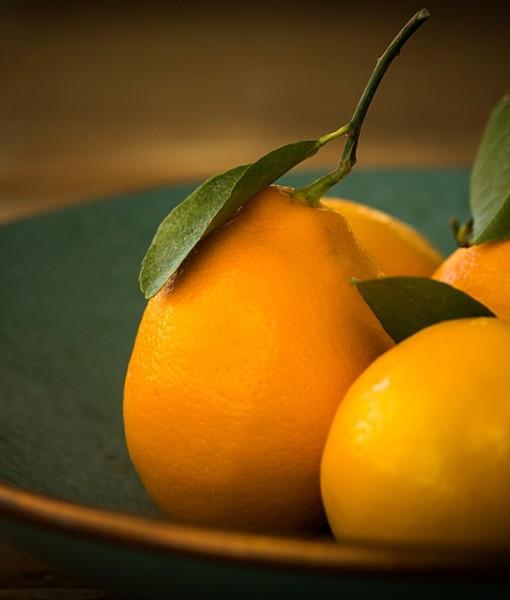 Фотообои Лимоны на блюде (ID 14225)