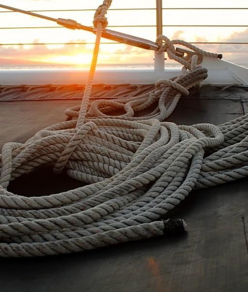 Фотообои На палубе яхты (ID 14507)