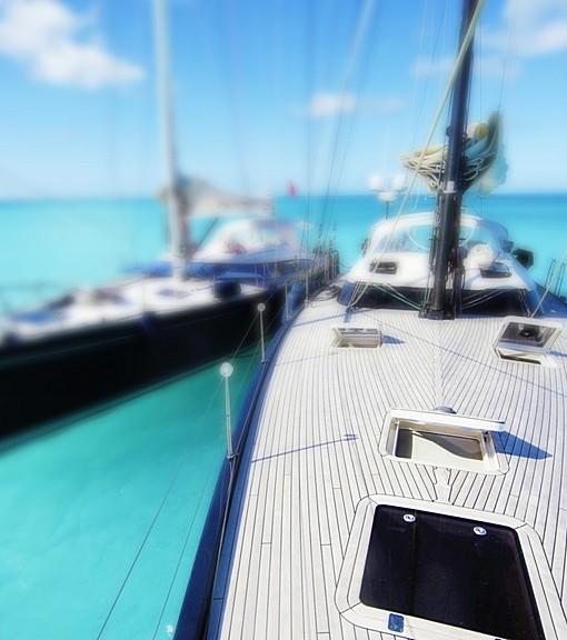 Фотообои На палубе яхты (ID 14510)