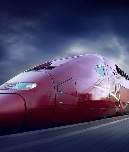 Фотообои Скоростной поезд (ID 14523)