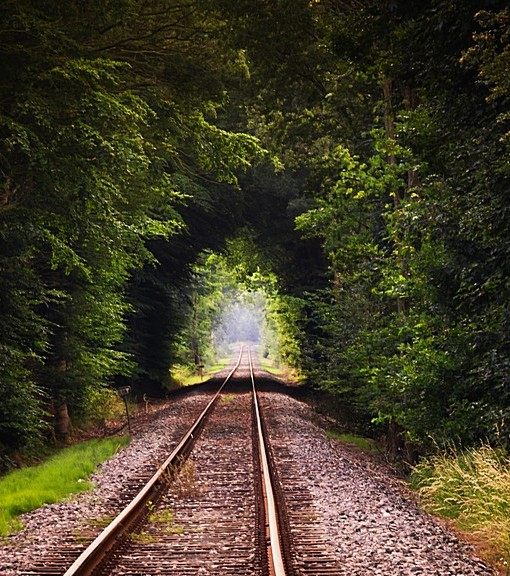 Фотообои Старая железная дорога (ID 14818)