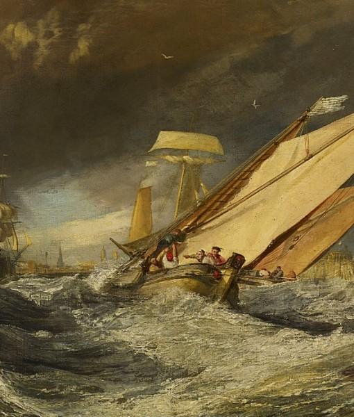 Фотообои В штормовом море (ID 15425)