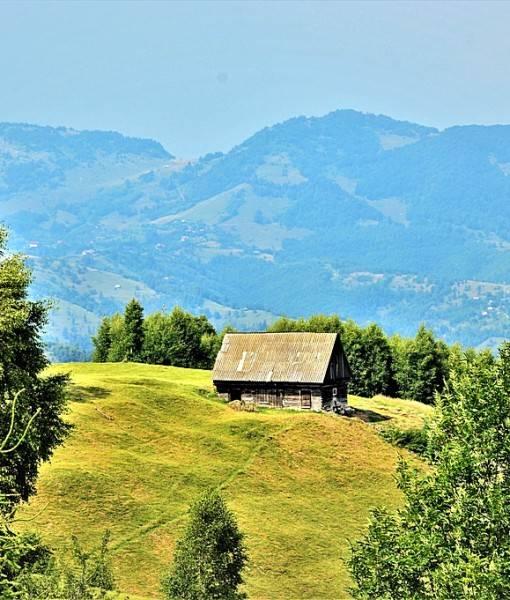Фотообои Домик в горах (ID 15447)