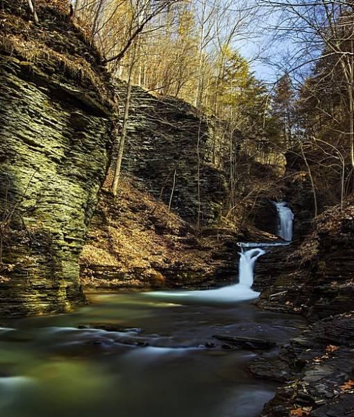Фотообои Небольшой водопад (ID 15491)