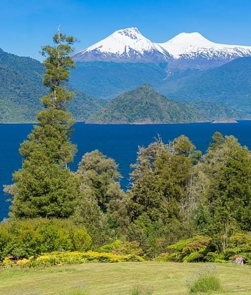 Фотообои Большое гороное озеро (ID 15511)