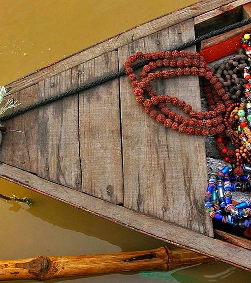 Фотообои Лодка с сувенирами (ID 16382)