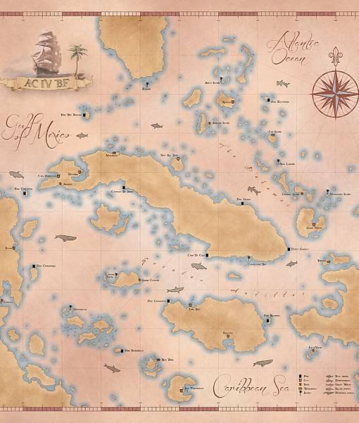 Фотообои Карибский архипелаг (ID 16533)