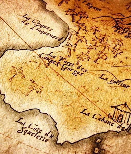 Фотообои Карта на старой бумаге (ID 16549)