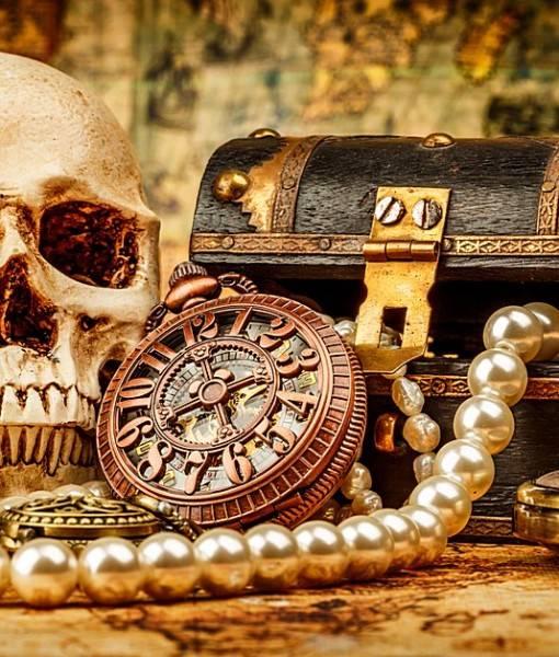 Фотообои Пиратские сокровища (ID 16651)
