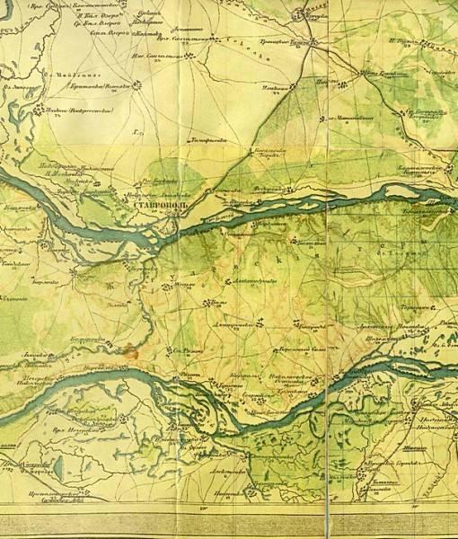 Фотообои Старая карта (ID 16666)