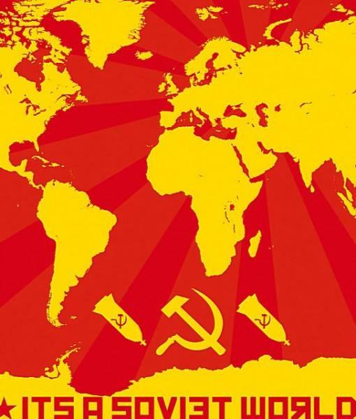 Фотообои Советская карта (ID 16688)