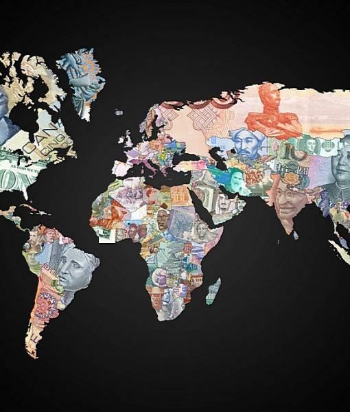 Фотообои Валюты мира (ID 16703)