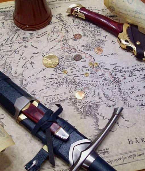 Фотообои Карта и клинок (ID 16712)