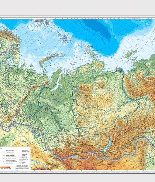 Фотообои Карта Росиии (ID 16726)