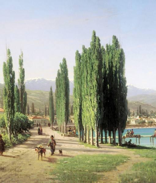 Фотообои П.П. Верещагин «Сухум-Кале» (ID 1621)